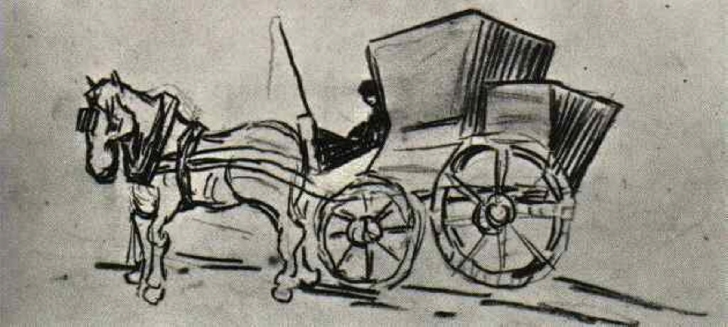 Horse And Carriage Drawing Carriage Drawn by a Horse