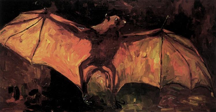 Flying Fox, 1886 - Vincent van Gogh