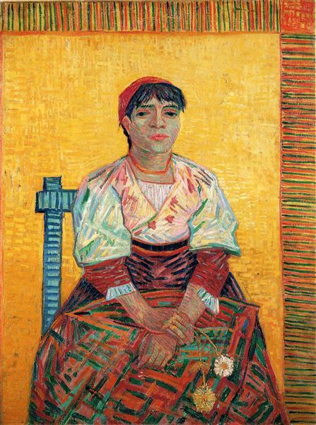 Italian Woman (Agostina Segatori), 1887 - Vincent van Gogh