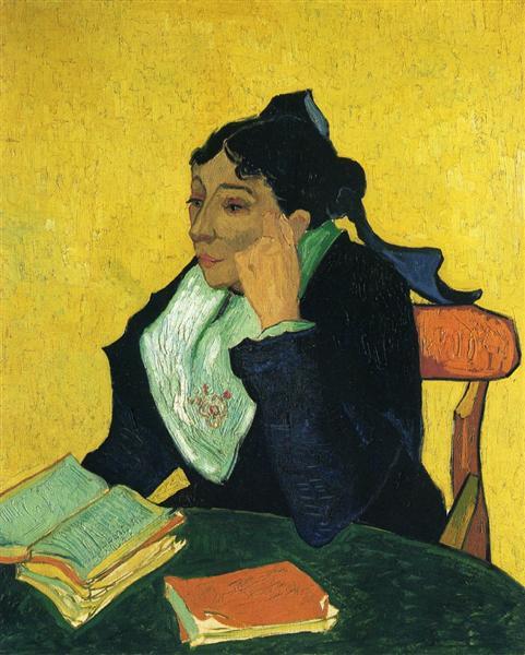 L'Arlesienne, Portrait of Madame Ginoux, 1888 - Vincent van Gogh