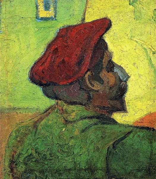Paul Gauguin (Man in a Red Beret), 1888 - Винсент Ван Гог