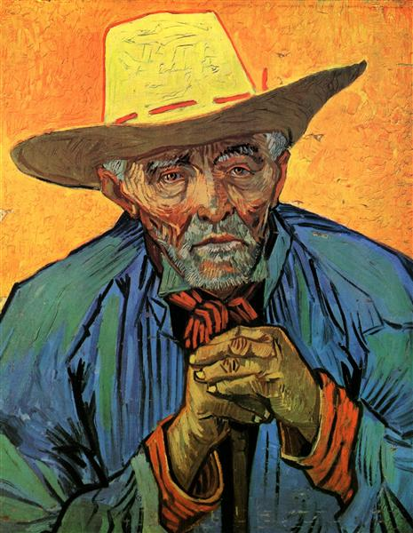 Portrait of Patience Escalier, 1888 - Vincent van Gogh