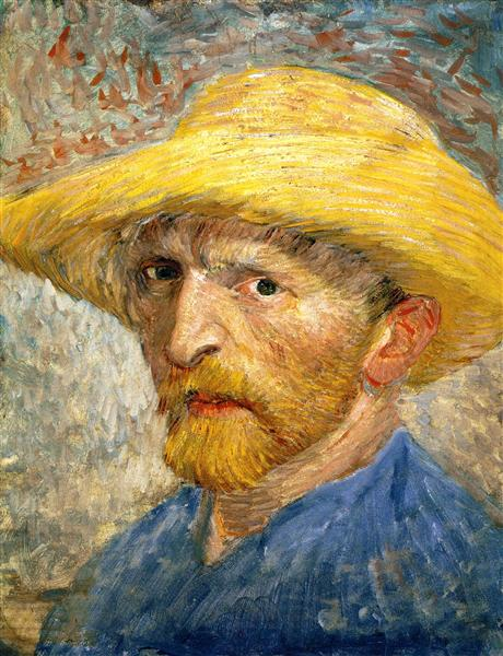 Self Portrait, 1887 - Vincent van Gogh