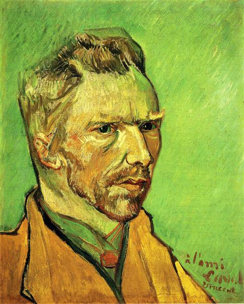 Self Portrait, 1888 - Vincent van Gogh