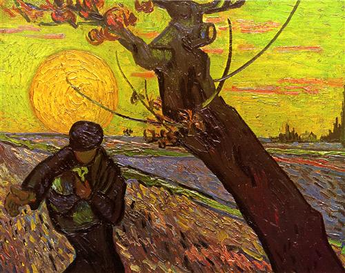 Sower - Vincent van Gogh