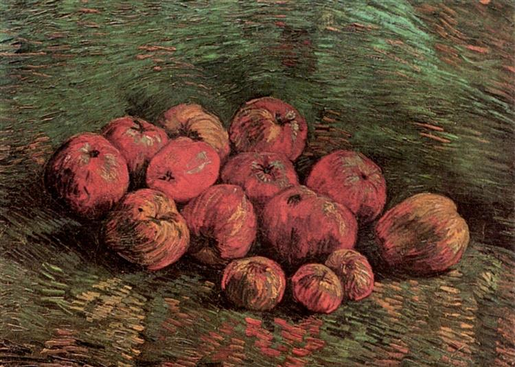 Still Life with Apples, 1887 - Vincent van Gogh