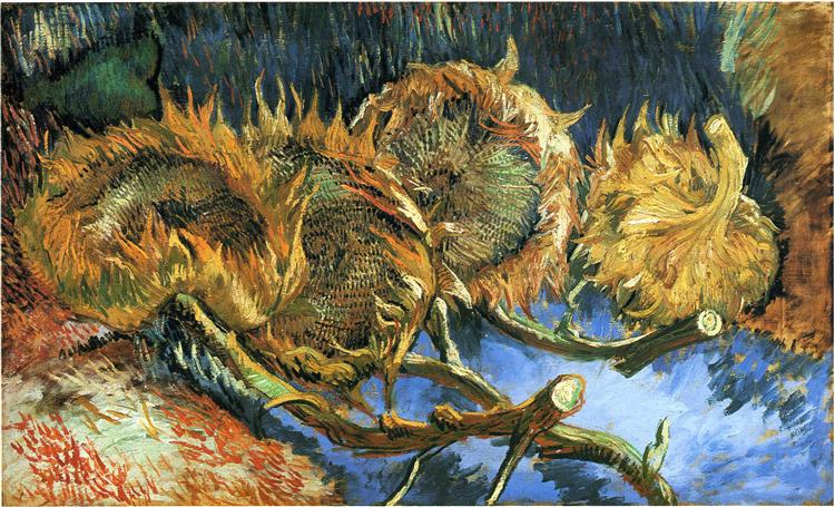 Still Life with Four Sunflowers, 1887 - Vincent van Gogh
