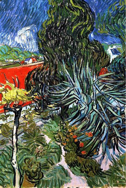 The Garden Of Doctor Gachet At Auvers Sur Oise Van Gogh Vincent
