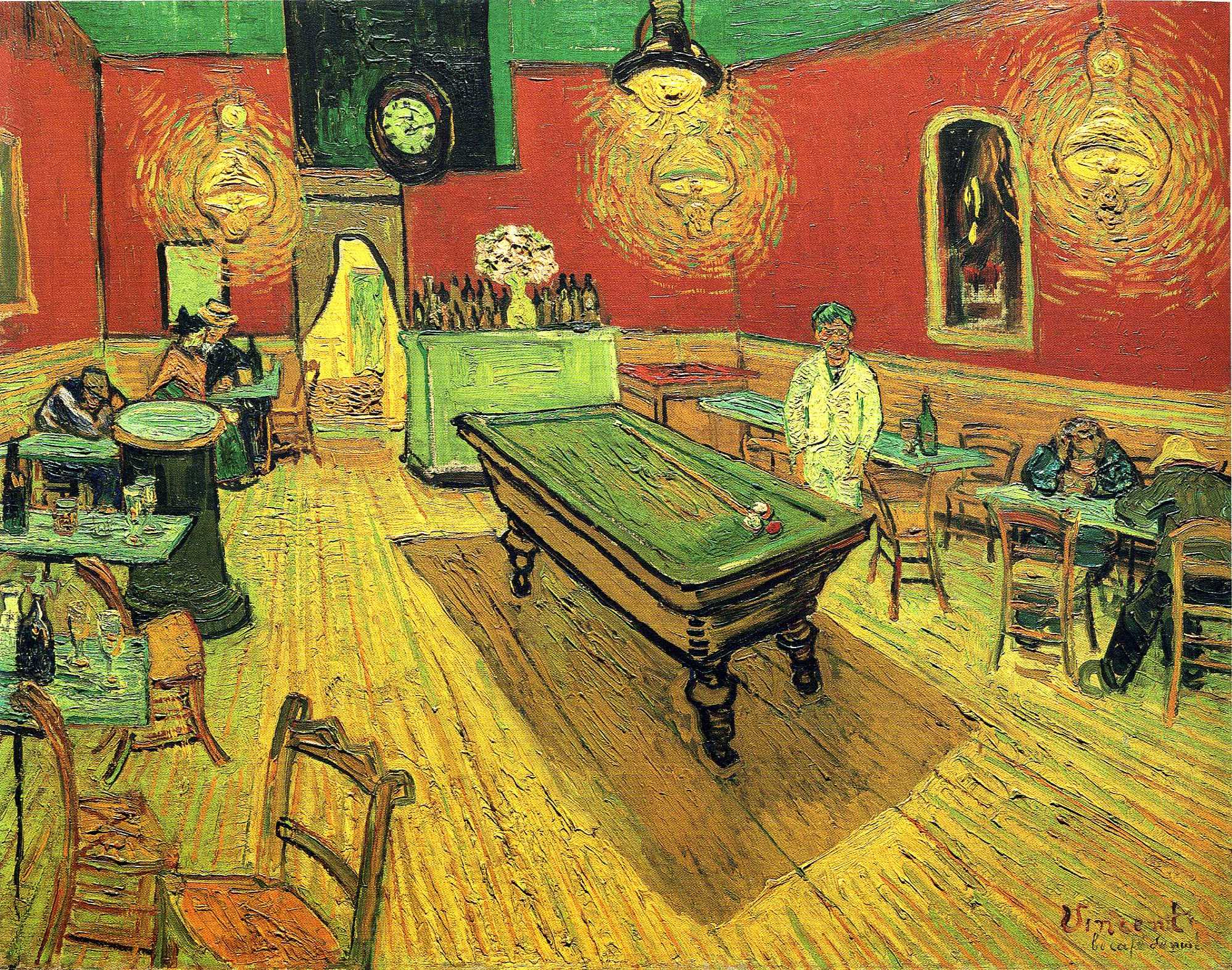 The Night Cafe 1888 Vincent Van Gogh Wikiart Org