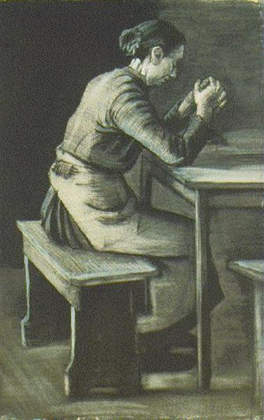 Woman Praying, 1883 - Vincent van Gogh