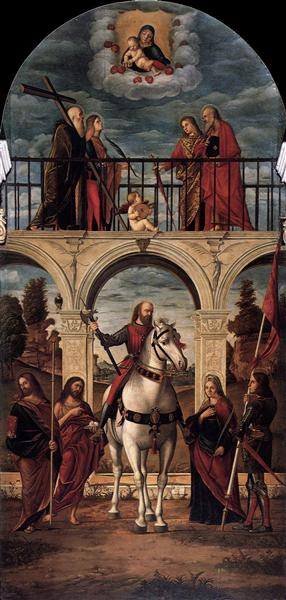The Glory of St. Vidal, 1514 - Vittore Carpaccio
