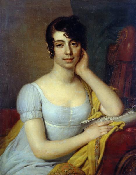 CleopatraIlinichnaLobanova Rostovskaya - Vladimir Borovikovsky