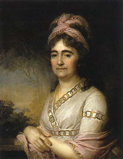 Portrait of Martha Arbeneva, 1798 - Vladimir Borovikovsky