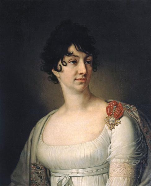 Portrait of S. A. Rayevskaya, 1813 - Vladimir Borovikovsky