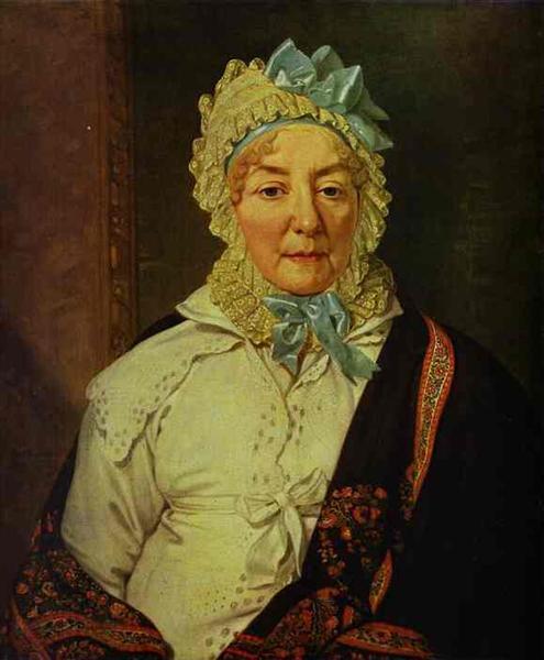 Portrait of Ye. A. Arkharova, 1820 - Vladimir Borovikovsky