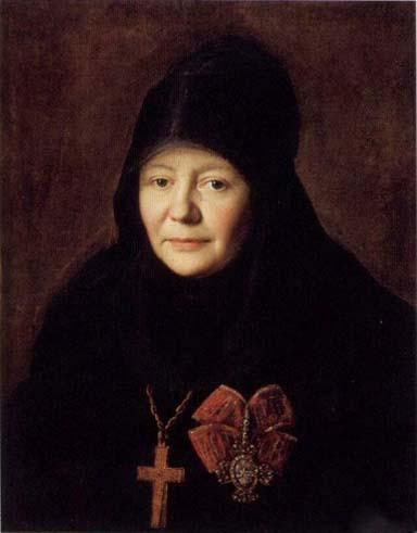 Portrait of Yekaterina Kropotova - Володимир Боровиковський