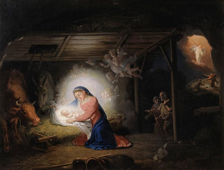 The Nativity of Christ - Vladimir Borovikovsky