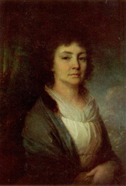 VeraIvanovnaArseniev - Vladimir Borovikovsky