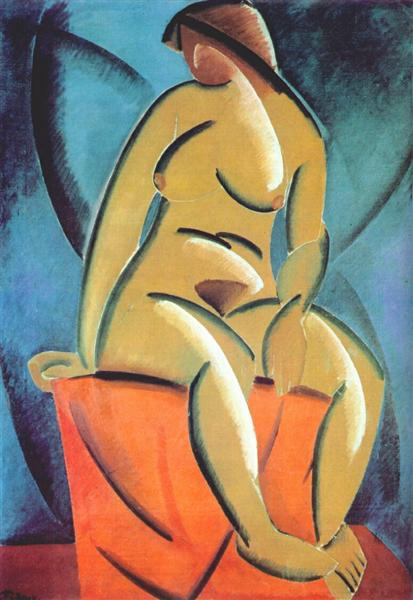 Image result for vladimir tatlin the nude 1913