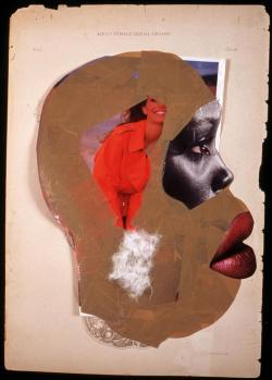 Adult Female Sexual Organs, 2005 - Wangechi Mutu