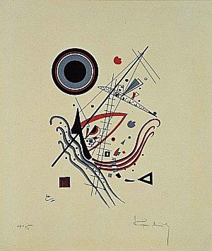 Blue, 1922 - Wassily Kandinsky