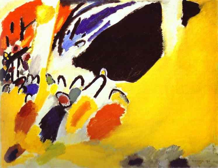 Impression III (Concert), 1911 - Wassily Kandinsky