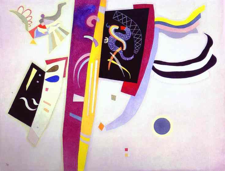 Orange-Violet, 1935 - Wassily Kandinsky