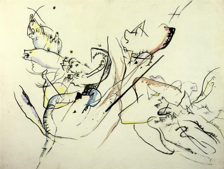 Untitled, c.1915 - Wassily Kandinsky