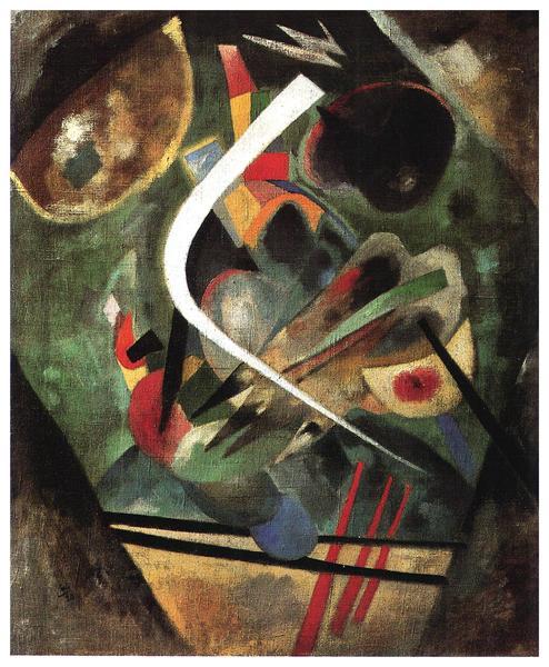 White Line, 1920 - Wassily Kandinsky