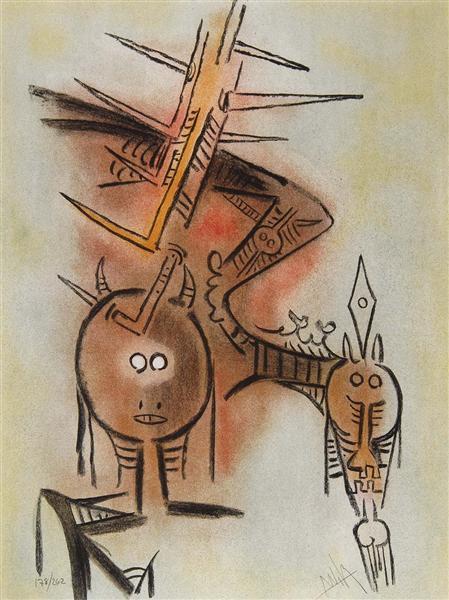 Innocence, 1974 - Wifredo Lam