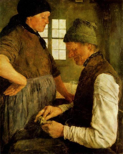 Der Spargroschen, 1877 - Вільгельм Лейбль