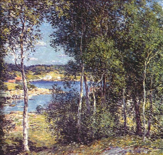 A Family of Birches, 1907 - Willard Metcalf