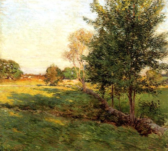 Lenghtening Shadows - Willard Metcalf