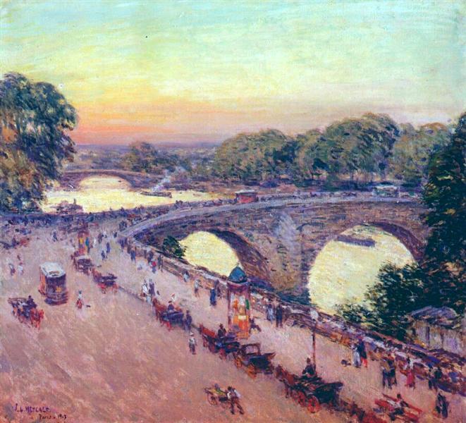 Pont Royal, 1913 - Віллард Меткалф