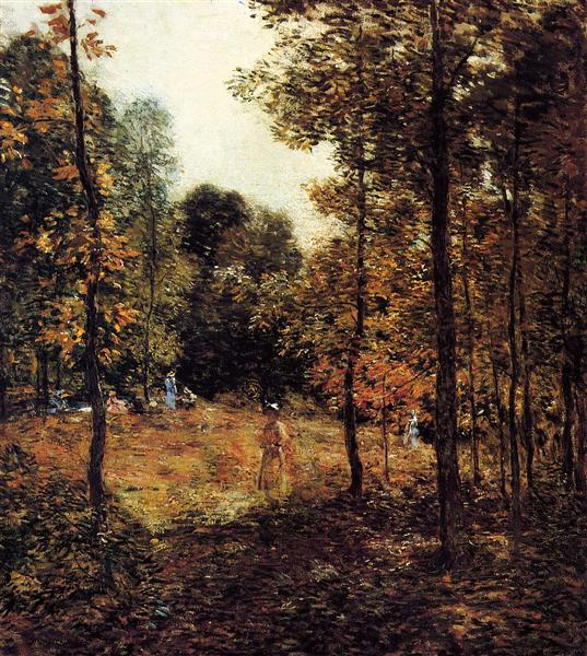 The Picnic, 1907 - Willard Leroy Metcalf