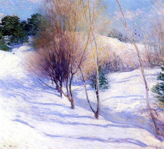 Winter in New Hampshire, 1913 - 1914 - Willard Metcalf