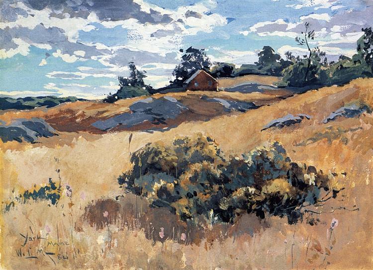 York, Maine,, 1882 - Willard Metcalf
