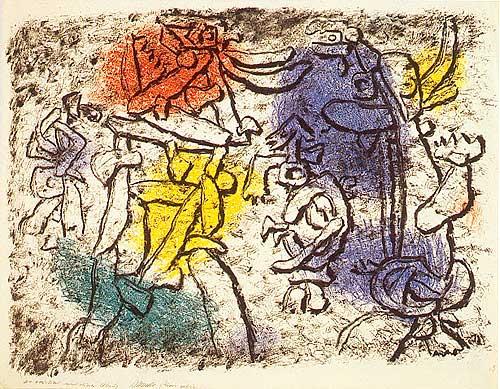 Magic Rupestre, 1953 - Willi Baumeister