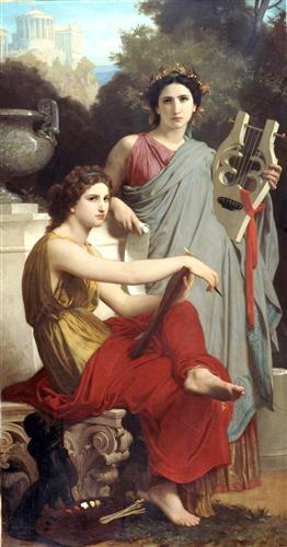 Art and Literature - William-Adolphe Bouguereau