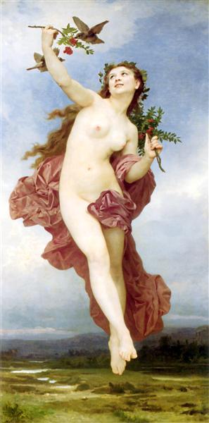Day - Bouguereau William-Adolphe