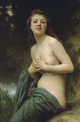 Spring Breeze - William-Adolphe Bouguereau