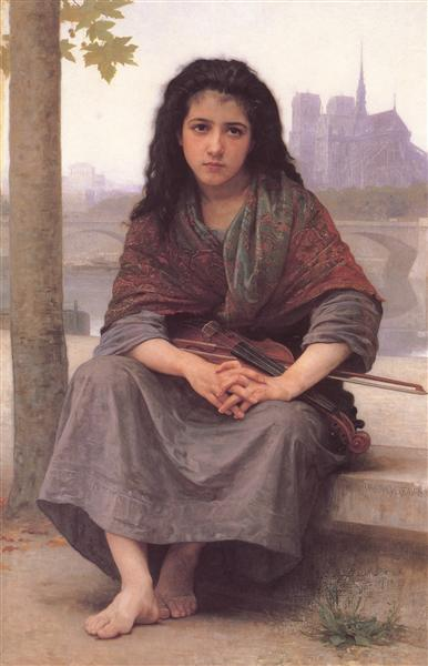 The Bohemian, 1890 - William-Adolphe Bouguereau