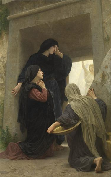 The Holy Women at the Tomb - William Adolphe Bouguereau
