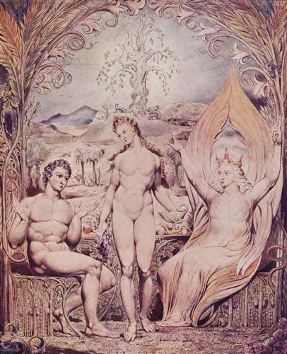 ArchangelRaphaelwithAdamandEve - William Blake