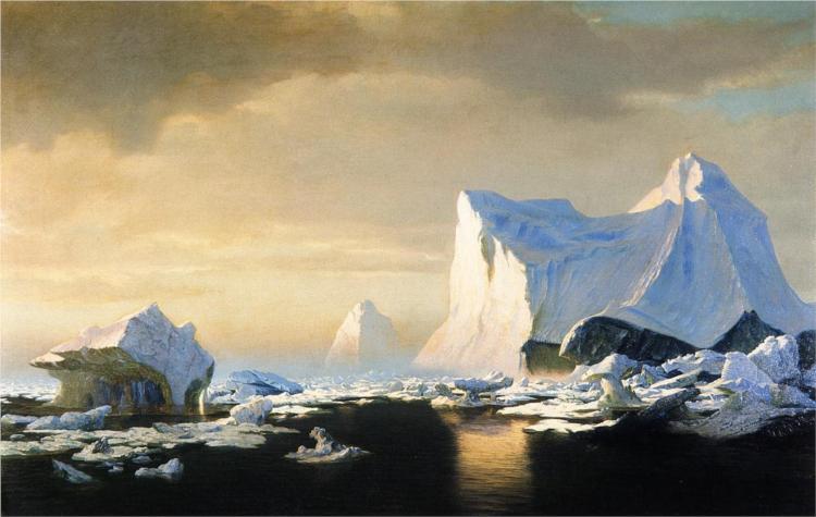 Icebergs in the Arctic, 1882 - William Bradford
