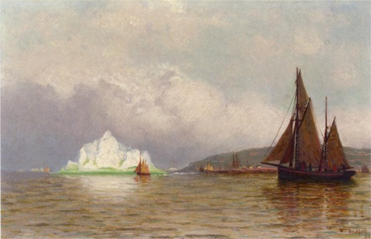 Labrador Fishing Settlement - William Bradford
