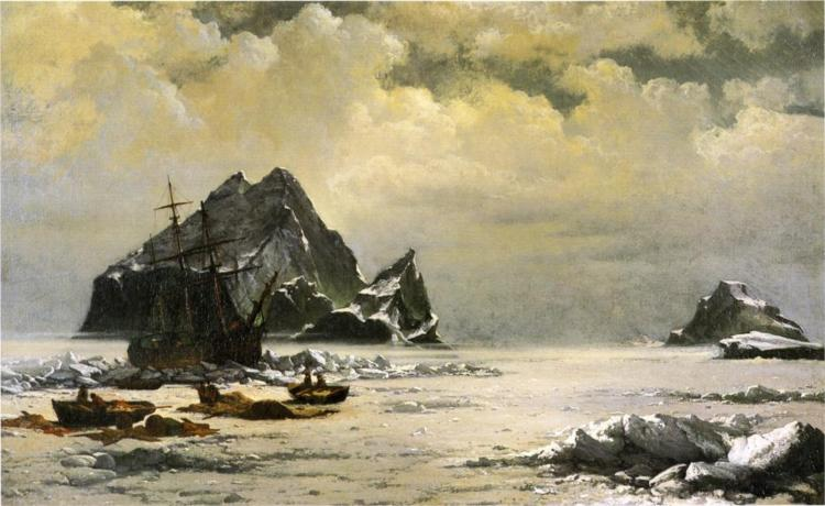 Morning on the Artic Ice Fields, 1880 - William Bradford