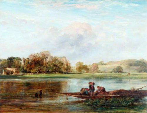 Bayham Abbey, near Tunbridge Wells  - William Collins