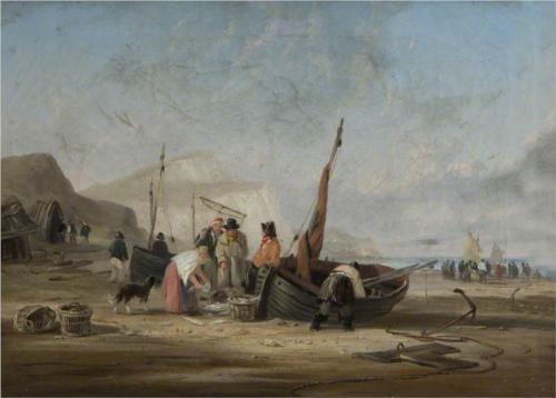Beach Scene - William Collins