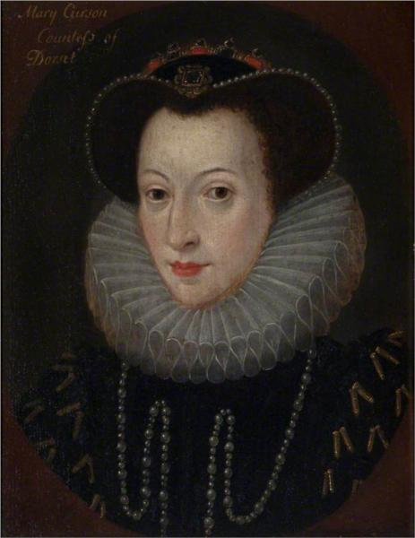 Mary Curzon (1585–1645), Countess of Dorset, 1790 - William Hamilton
